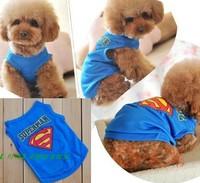wholesale  dog  superman  T shirt clothes  size xs-l