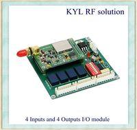 3km 4-way I/O Module, 433MHz Wireless ON-OFF Control, Wireless Pump Management, Tank Control