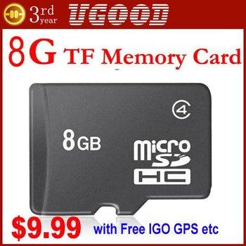 8-G-B TF Card micro sd memory card+Plastic Box For HKugood VIP Buyer