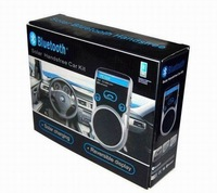 Sloar Charging Bluetooth Handsfree Car Kit on sale