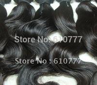 "Malay-sian Vir-gin Hair Weft - Body Wave 12""-28""  hu-man hair extension free shipping"
