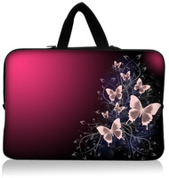 "Latest 8"" 10"" 10.2"" Laptop Protection Sleeve Case Soft Bag Pouch Cover with Handle For 10.1 Acer Iconia A200 W500 A500 Tablet PC"