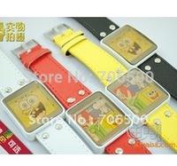 Advantages of merchandise,womage cute cartoon Spongebob Squarepants / fashion watches, wholesale,free shipping , 10 pcs/lot