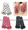[ Free Shipping ] 2012 newest style three layers lace children leg warmers ,  girl's leg warmer