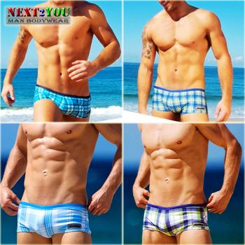 Free Shipping!!-AUS Mens Beachwear/Mens swim trunks/Swim trunks/4 Colors (N-115)