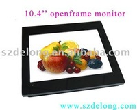Vandal Proof Saw Touch Screen!10.4inch open frame touch monitor,LCD display