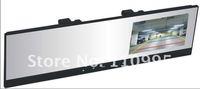4.3''TFT  Car bluetooth mirror + wireless rearview camera + bluetooth handsfree Car kit