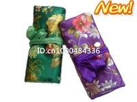Free shipping! Hot Wholesale 6 PCS NEW handmade Top silk travel jewellery rolls & boxes 28cmx20cm