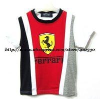 children like wholesale T-shirt/lovely Boy's ruffled, printing design short sleeve T-shirt/the most popular T-shirt