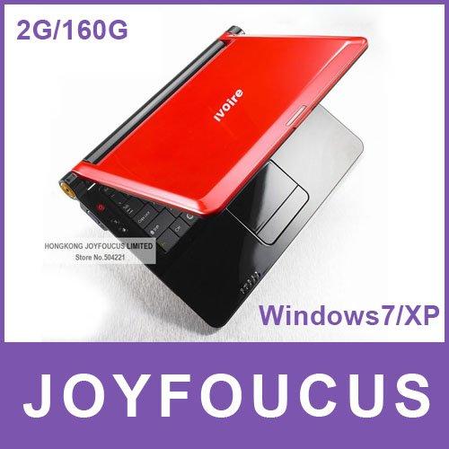 FIC SEV00 10 inch laptop larger keyboard N450/ 2G/ 160HDD Windows 7 or Linux Ultra Slim Original ...