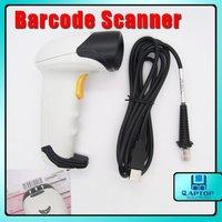 Portable Handheld White USB Laser Barcode Scanner EAN UPC Reader Bar-code Scanner Code Scanner