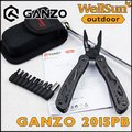 MOQ:1pc 100% Original Ganzo Knife Multitool 22 Functions In 1 Pliers Outdoor Folding Knives Fishing Tool For Survival  #2015PB