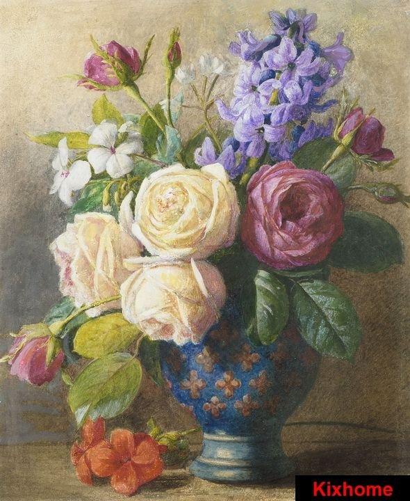 Dipinti fiori - Tutte le offerte : Cascare a Fagiolo