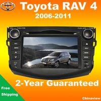 High quality Toyota RAV 4 car head unit 2006-2011 with GPS navigation bluetooth car camera TV usb sd aux radio ipod camera