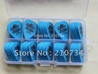 100Pieces GUITAR PICKS BLUE 1.0mm Guitar Picks Wholesale free shipping