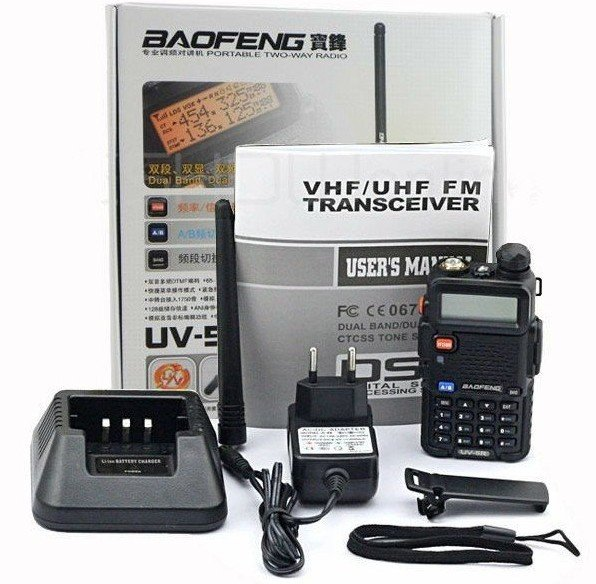 NEW baofeng dualband UV-5R radio dual display 136-174/400-480mHZ two way radio with free earpiece for Ham,hotel,drivers bf-uv5r(China (Mainland))