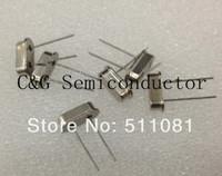 Free shopping 100PCS 49S 4MHZ / 4M HZ Crystal Oscillator