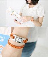 Wholesale women wristwatches ladies fashion leather strap quartz watch Women dress watches w344