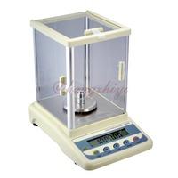 200g x 0.001g High Precision Digital Jewelry Diamond Gem Laboratory Balance w Shield German Sensor + RS232C Interface + Counting