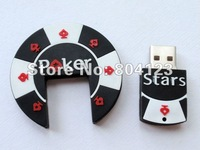 Freeshipping novelty day gift usb flash dirve poker usb flash drive valentine's gifts novelties Full 4GB/8GB/16GB/32GB Wholesale