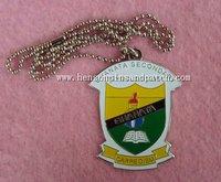 Custom school open tag, carpe diem tag, dog tag for CHANATA school, 60CM stainless steel chains