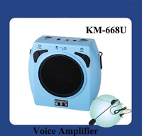 DHL Free Shipping 15W FashionPowerful Amplifier With USB Slot  (KM-668U)