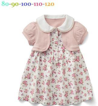 Freeshipping Wholesale Girls dress, Summer girls clothes, Kids clothes, Cotton, Dress, Baby dress, Beautiful 5pcs/lot