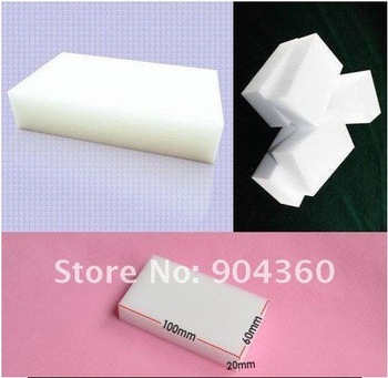 Free Shipping,We best,2013 hot sale multi-functional Magic Sponge Eraser Cleaner, 100x60x20mm 100pcs/lot ,drop shopping