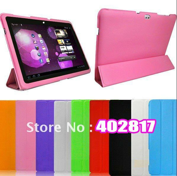 """$15 off per $150 order"" For Samsung Galaxy Tab 10.1 P7510 smart cover Leather Case with stand Free Shipping Hot sale(China (Mainland))"