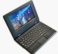 Mini Notebook with English/Spanish/Russian keyboard Android 4.0 VIA8850 HDMI laptop
