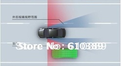 Free Shipping Auto, Car or Truck Blind Spot Blis Distance Detection System ISO 9001(China (Mainland))