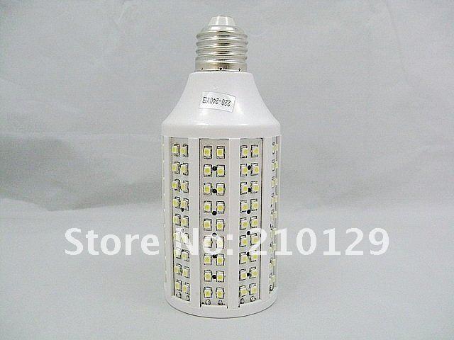 Free shipping 5PCS/LOT SMD3528 140PCS E27 7W Degree 360 white/warm white led corn light energy saving 200-240V 1 year warranty(China (Mainland))