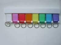 Free shipping wholesale plastic ID Key tag key label cards key chain 1000pcs/lot