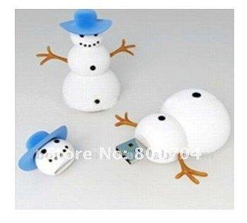 2012 hot seller snowman usb flash memory
