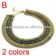 popular silver mesh necklace
