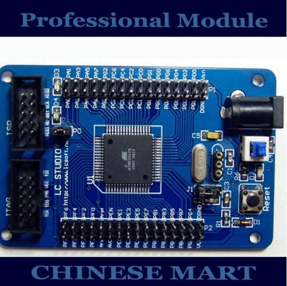 AVR Atmega128 Mini Core Development Board Mega128 Dev Board Free Shipping#E09042(China (Mainland))