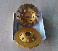 TURBO Diamond cup grinding Wheels
