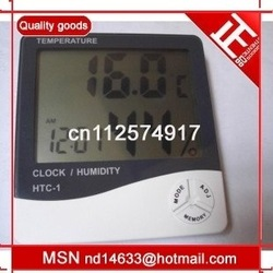 High-precision indoor temperature and humidity tableHTC1 Hygrometer(Office Use Only )(China (Mainland))