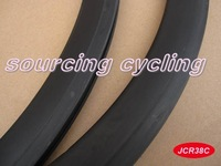 38mm clincher UD weave full carbon bicycle rims