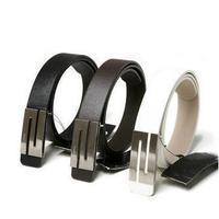 Retail Men Fashion S Style PU Leather Waist Belts 3 Colors