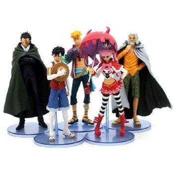 New Janpanese Anime One Piece 5pcs/set  figures toys 12-14cm Free Shipping