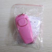 20pcs/lot  Dog Pet Click Clicker whistle