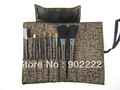 free shipment 6sets Makeup Brush set 8-in-1 Cosmetic Brushes Applicators Set&Case Make-Up Brush Set Case
