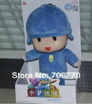 Lots FREE SHIPPING BANDAI Pocoyo friends Stuffed PLUSH doll toy figure preschool child kids gift IN HAND!