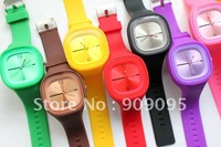 103 pcs/lot wrist quartz watch Candy watch Fashion New Jelly watch ODM watch Wholesale factory sales H01