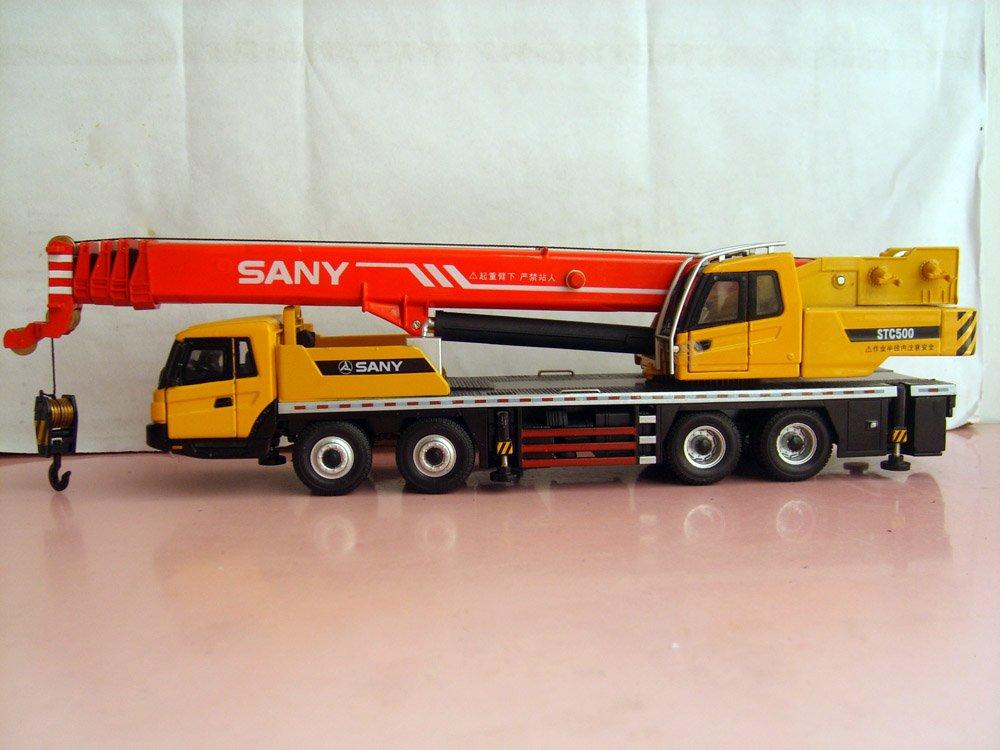 1:43 SANY STC500 Truck Crane toy(China (Mainland))
