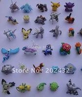 HOT Brand New Cute Pokemon Monster Mini figures toys lot 2-4cm 100 pcs in Random best wholesale
