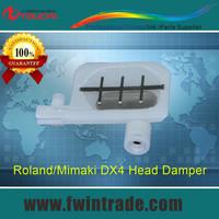 Get 2pcs free!!! roland sc/vc/sp/fj 540/640/740 mimaik jv3 130/160/250printer big net small dx4 head damper