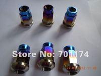 Gr5 Titanium Lug Nuts 14x1.5 or 1.25X40mm