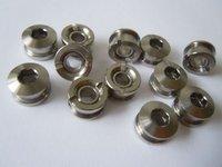 Titanium chainring screw